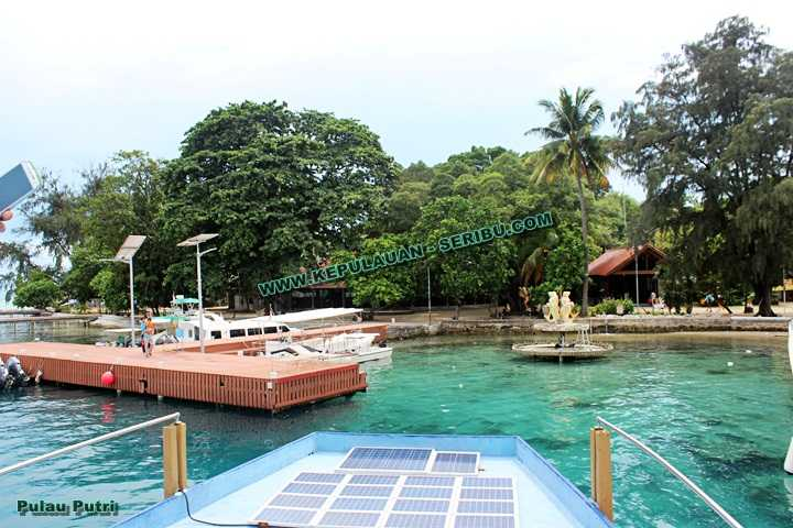 Pulau Putri Wisata Kepulauan Seribu Resort