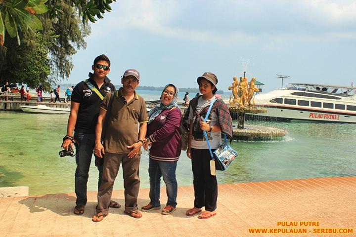 Pulau Putri Wisata Keluarga Di Kepulauan Seribu