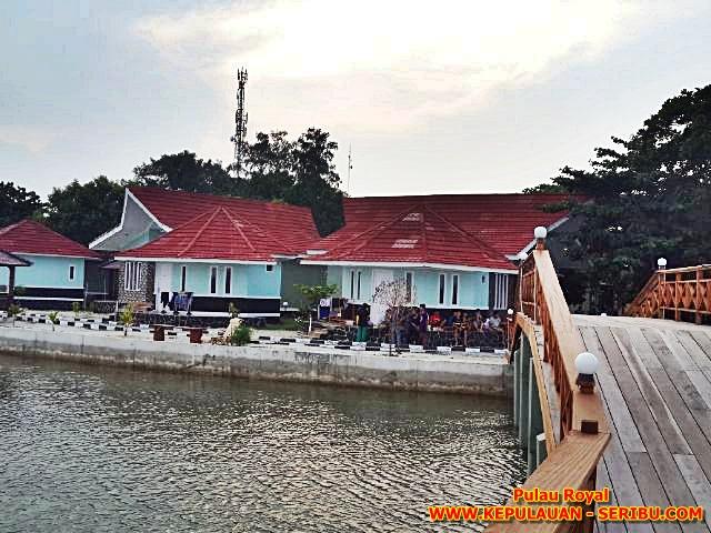 Pulau Royal Sunset Dek Penghubung Resort