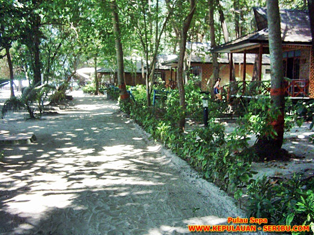Cottage Pulau Sepa Resort Di Pulau Seribu