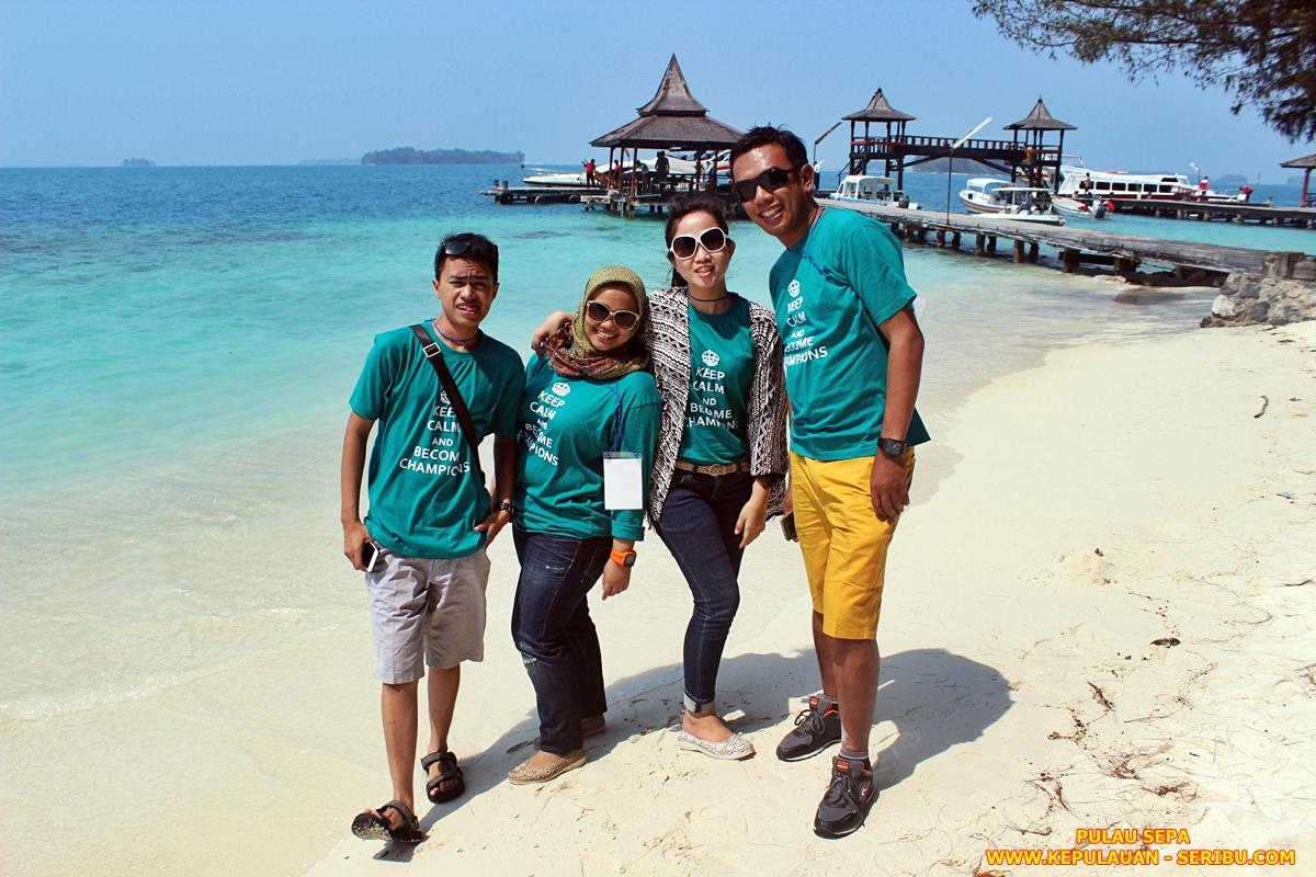 Pulau Sepa Resort Wisata Kepulauan Seribu Jakarta