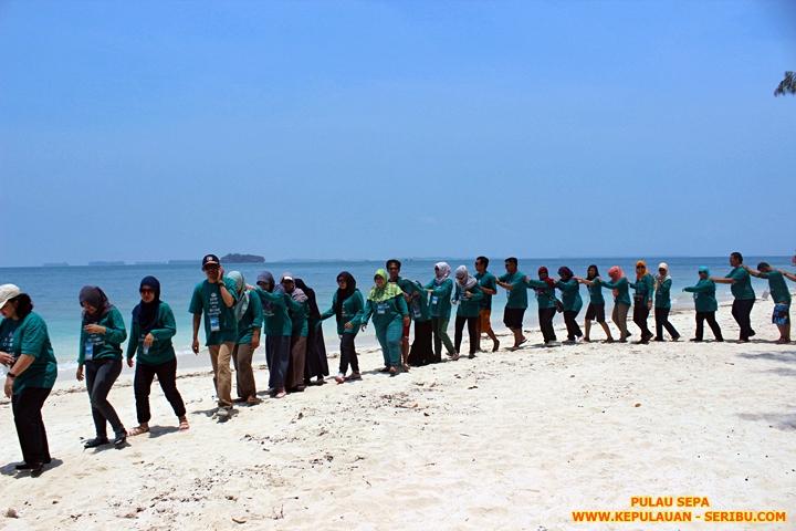 Pulau Sepa Wisata Pulau Seribu Resort Jakarta