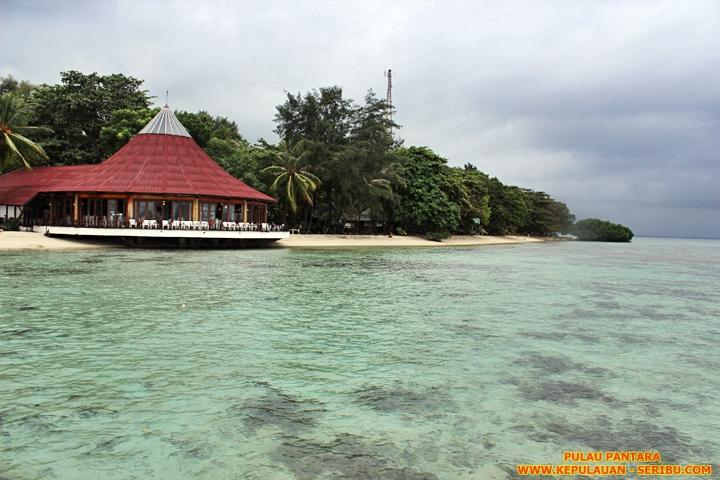 Restoran Di Pulau Pantara Wisata Pulau Seribu
