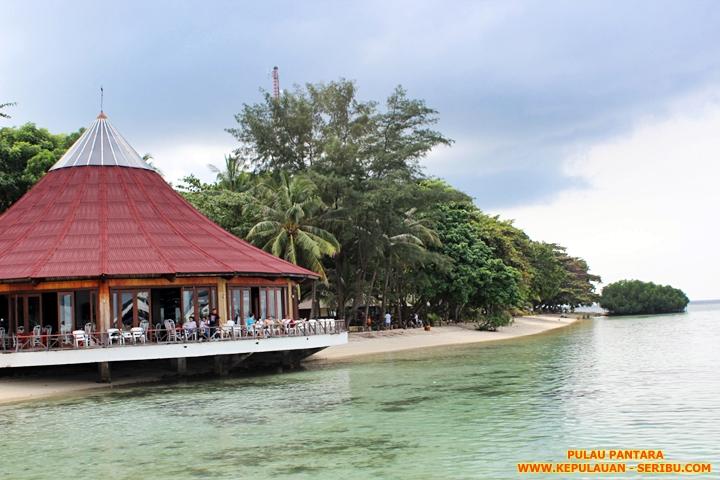 Restoran Pulau Pantara Wisata Kepulauan Seribu