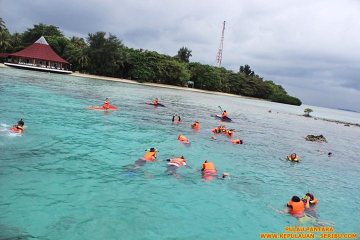 Pulau Pantara Wisata Pulau Seribu Resort