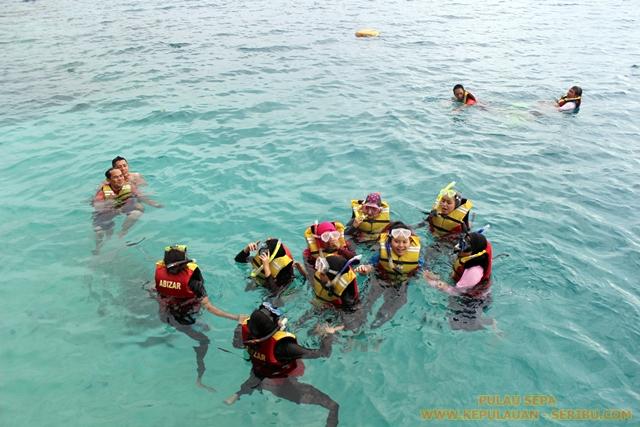 Snorkeling Di Pulau Sepa Resort