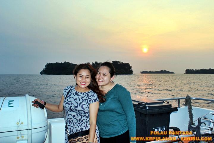 Senja dan Sunset Di Pulau Pantara Resort Jakarta