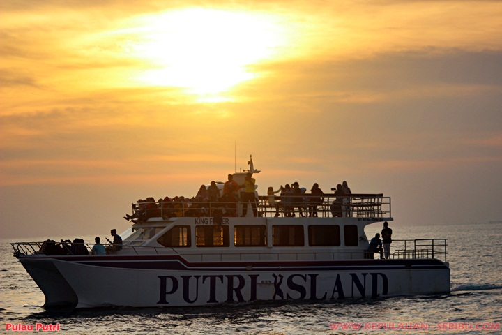 Sunset Cruise Pulau Putri wisata Kepulauan Seribu