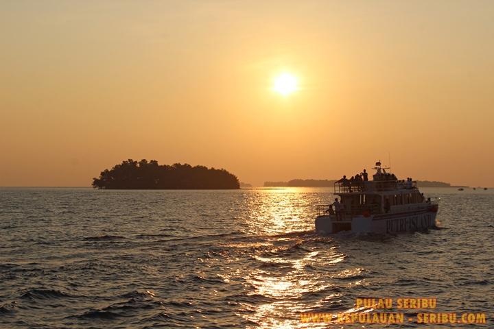 Sunset Cruise Pulau Putri Dan Pulau Pantara Di Pulau Seribu
