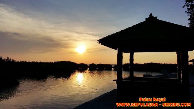 Kampung Sunset Pulau royal Wisata Pulau Kelapa