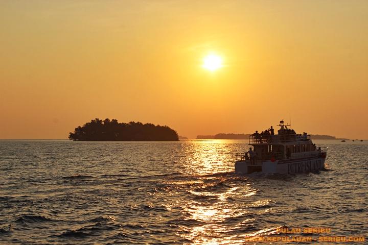 Sunset Pulau Seribu Jakarta