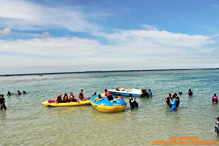 Permainan Air Watersport Pulau Seribu