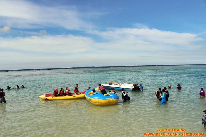 Watersport Pulau Tidung Wisata Pulau Seribu Jakarta