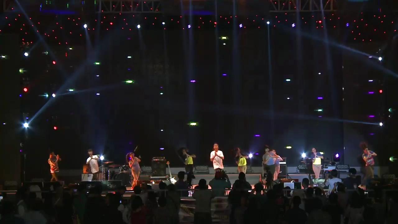 Animal Pop Dance yang dipentaskan di Malam Grand Final Miss Jakarta Fair
