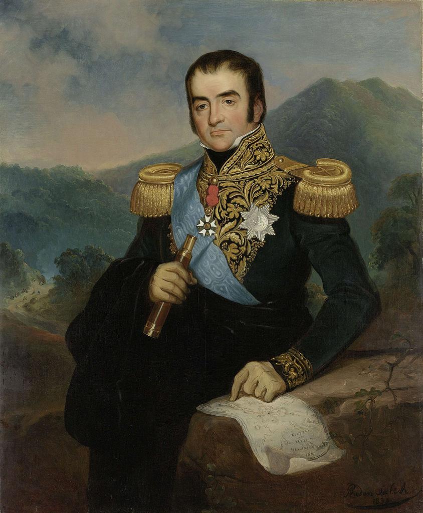 Gubernur Jenderal Daendels. Meskipun ia memimpin pembangunan Jalan Raya Pos, namun ia tidak mengubah jalur berkendara di Hindia Belanda seperti Napoleon