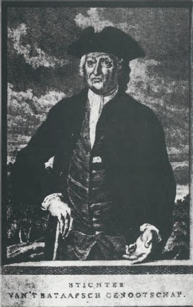 Jacobus Cornelis Mattheus Radermacher, pendiri Bataviaasch Genootschap van Kunsten en Wetenschappen © Domain Publik (via Wikimedia Commons)