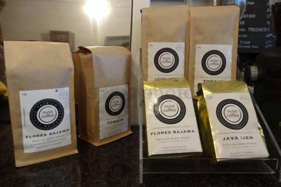Biji kopi yang dijual di Nusa Coffee