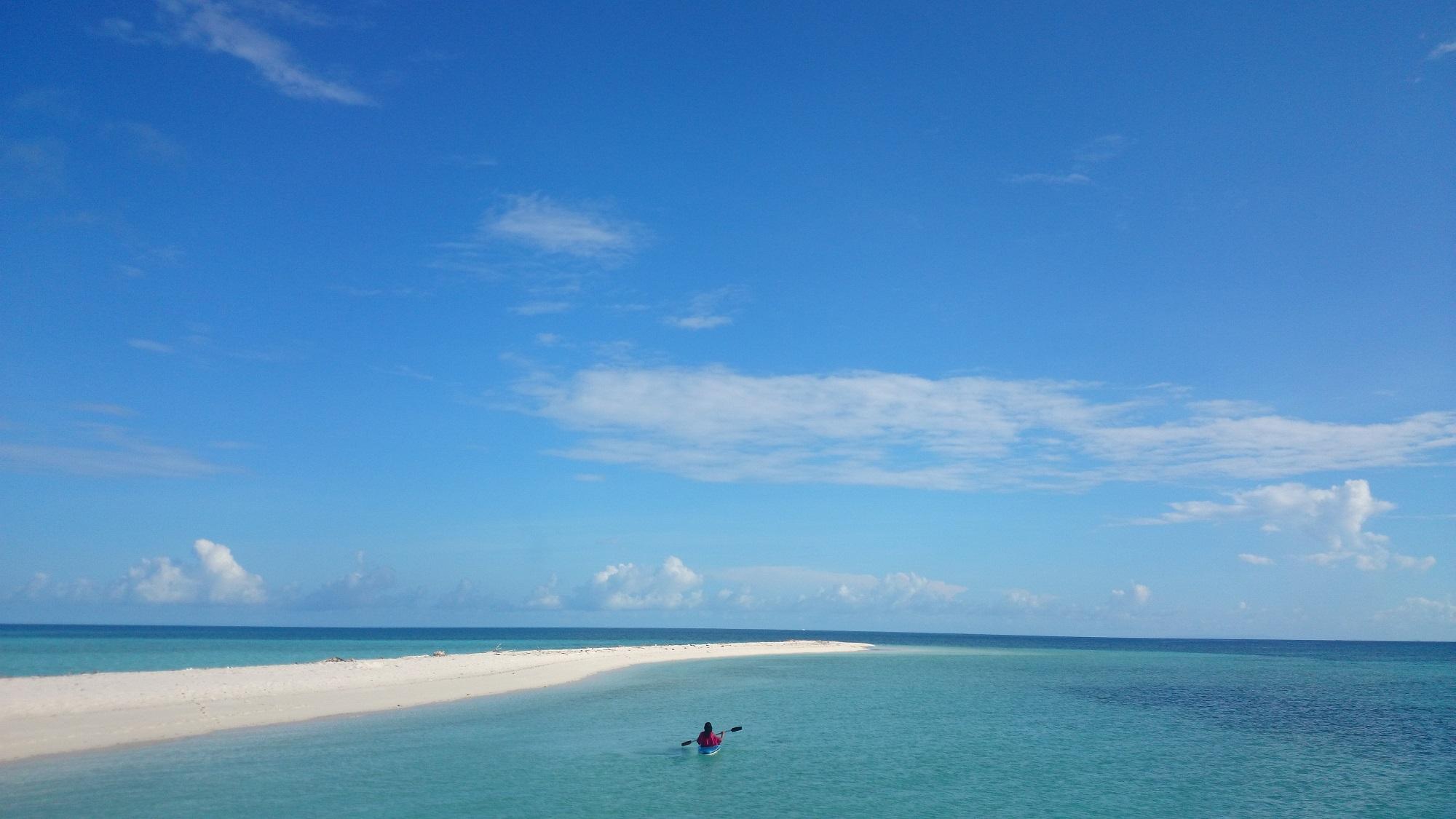 Pulau-pulau kecil yang cantik di Taman Nasional Takabonerate