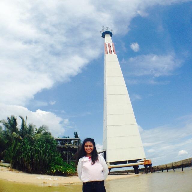 Mercusuar di Pulau Beras Basah