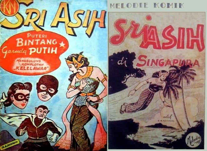 sri asih, sosok superhero wanita dalam komik pertama karya RA Kosasih (foto: boombastis.com)
