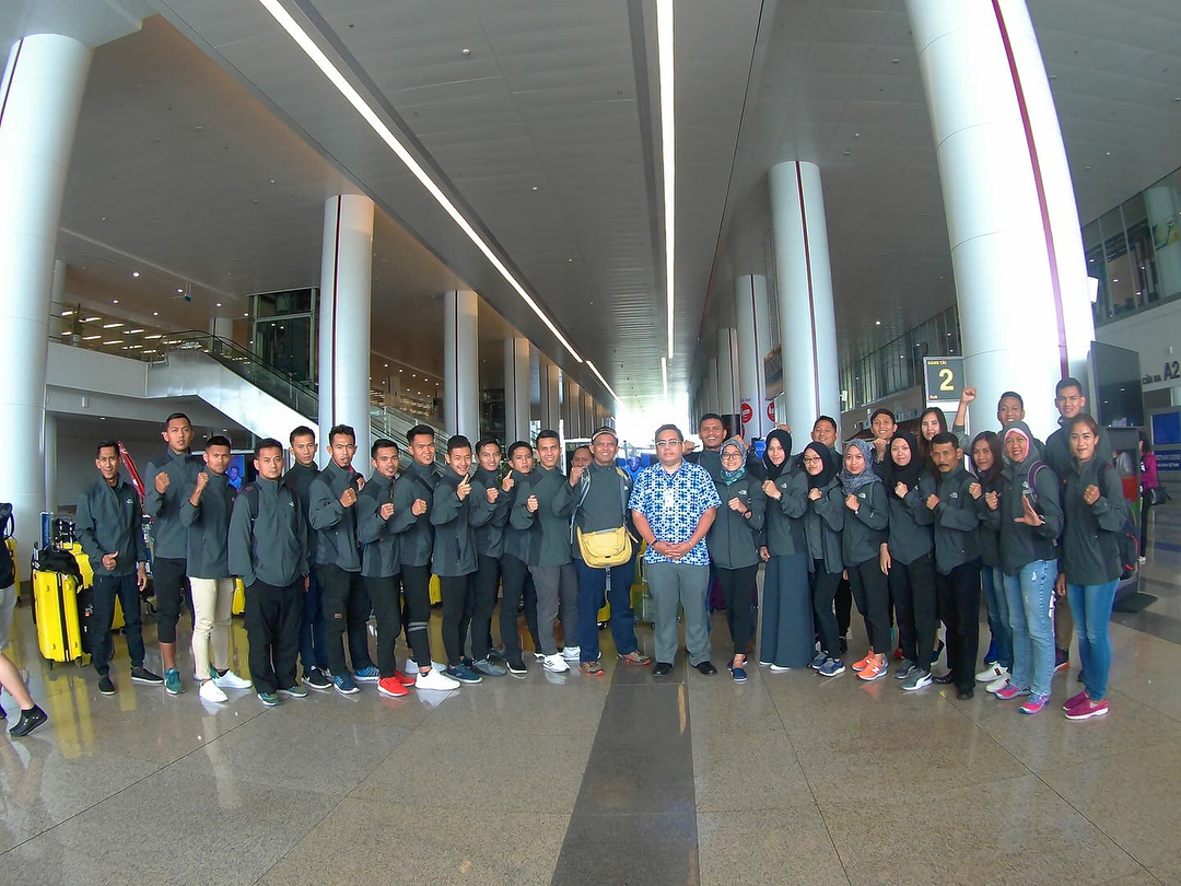 Persiapan Tim Nasional Pencak silat dalam akun IG : @Pelatnas_Indonesia