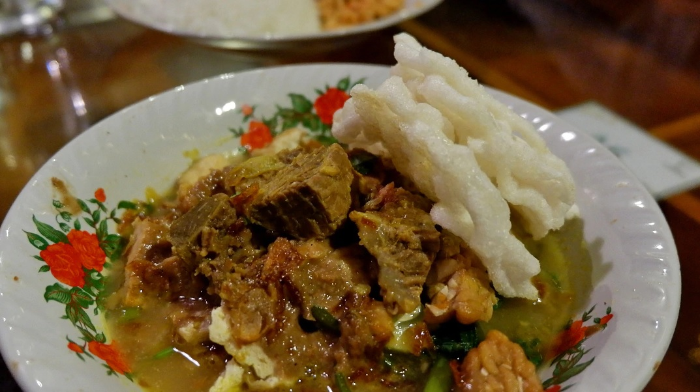 Rujak Soto Daging