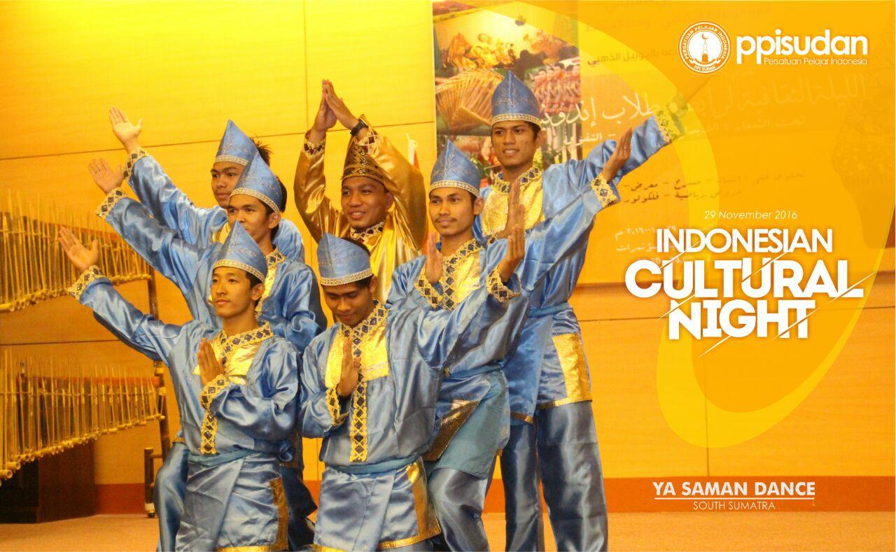 Cultural Night di Sudan (Foto: PPI Sudan)