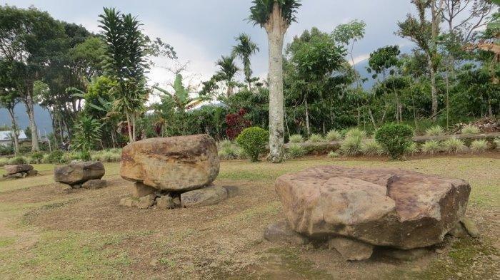 Sejarah Seputar Situs Batu Berak di Lampung | Foto: bogor.tribunnews.com
