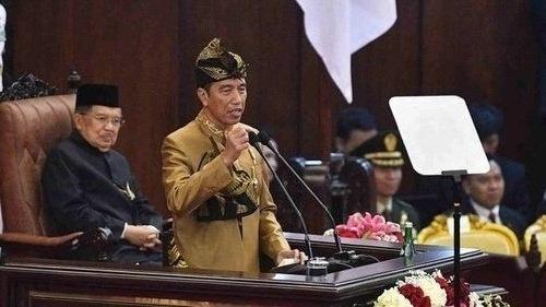 Pidato Presiden Jokowi - tirto.id