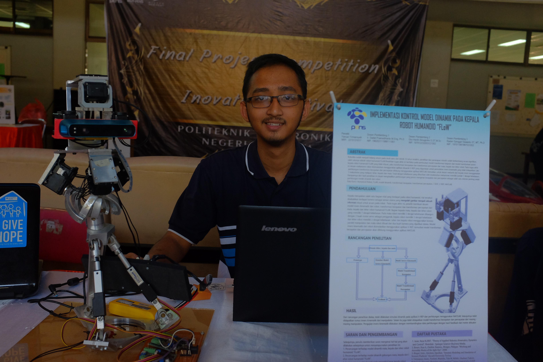 Salah satu peserta pameran FPC