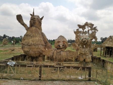 Patung Jerami Atung, Bhin-Bhin dan Kaka