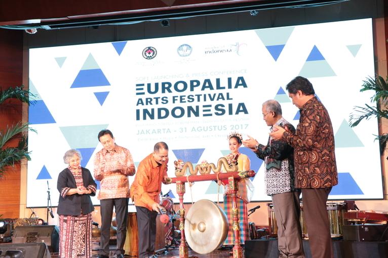 Soft Launching Press Conference Europalia Arts Festival lndonesia 2017 (© bekraf.go.id)
