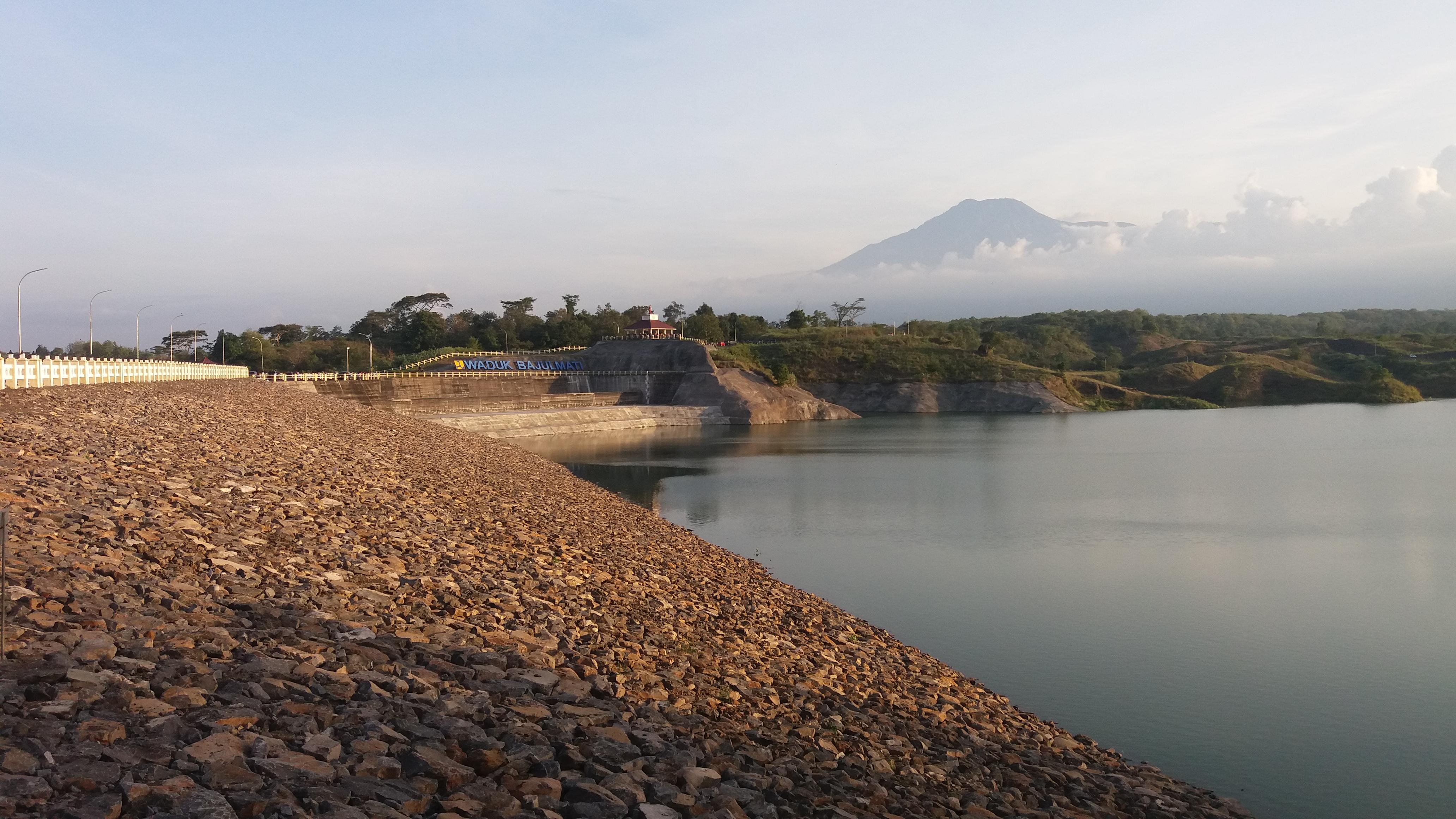 Panorama Waduk Bajulmati