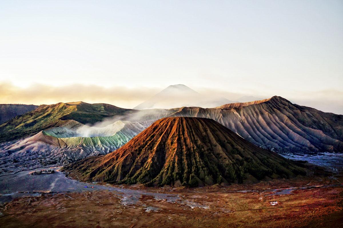 Gunung Bromo Saat senja