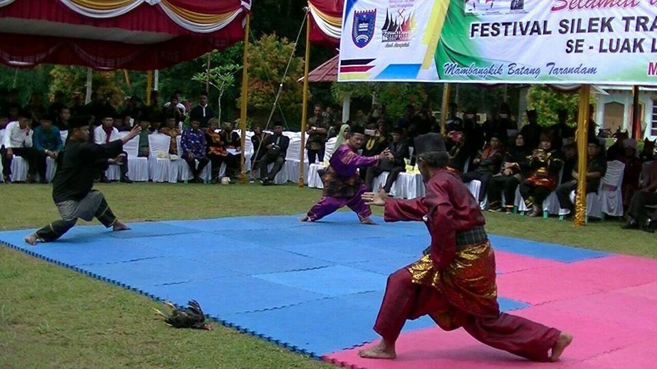 Pelaku Silek Tradisi Minangkabau