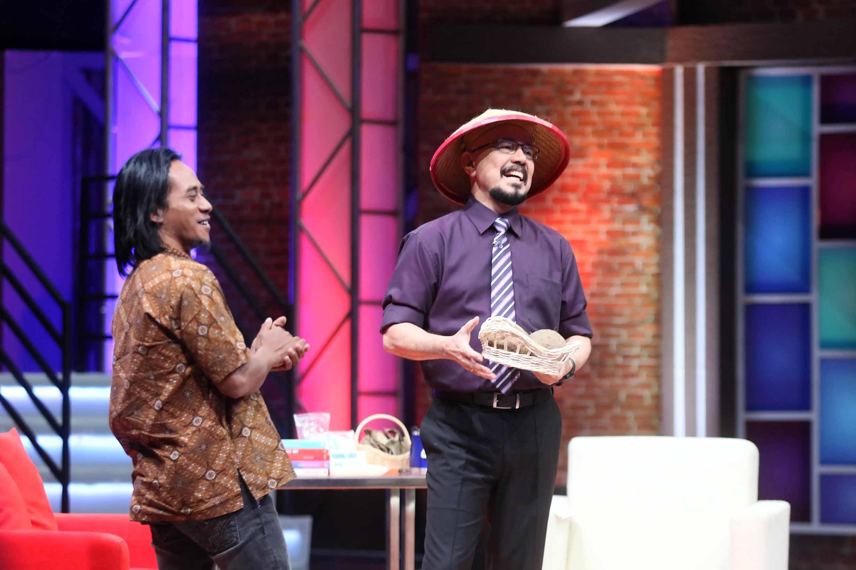 Paidi dalam salah satu acara talkshow   Foto: Twitter @KickAndyShow