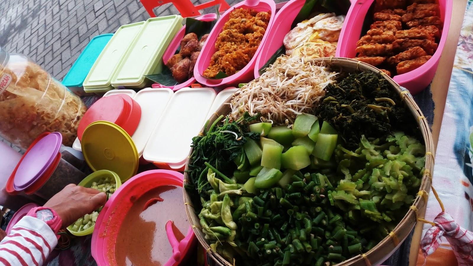 Ilustrasi penjual pecel   Foto: pecelkendil.blogspot.com