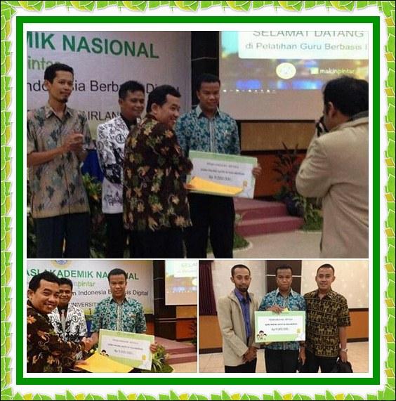 SMK YMIK Jakarta,Raih Penghargaan Guru Teraktif Tahun 2016 Tingkat Nasional