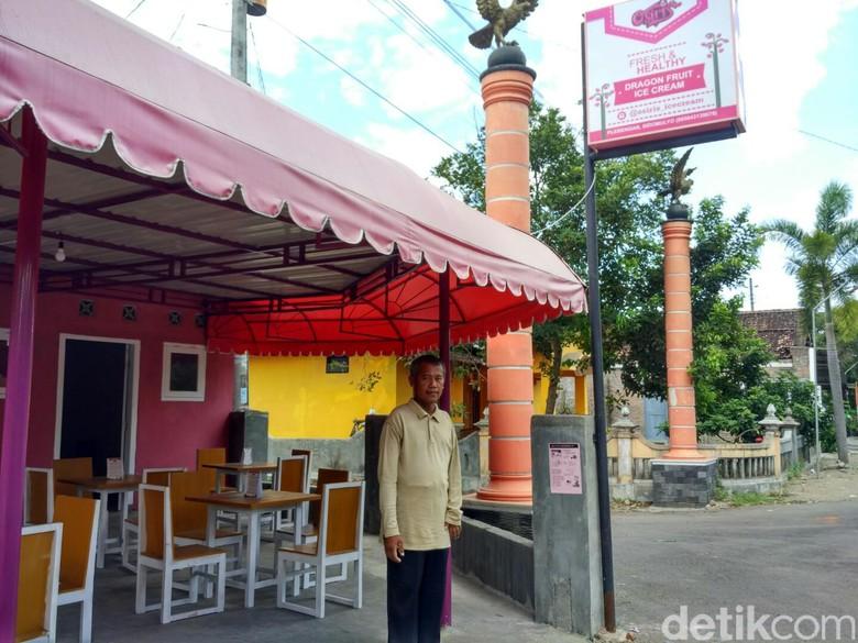 Kedai Es Krim Osiris di Jl. Parangtritis km 20, Bantul