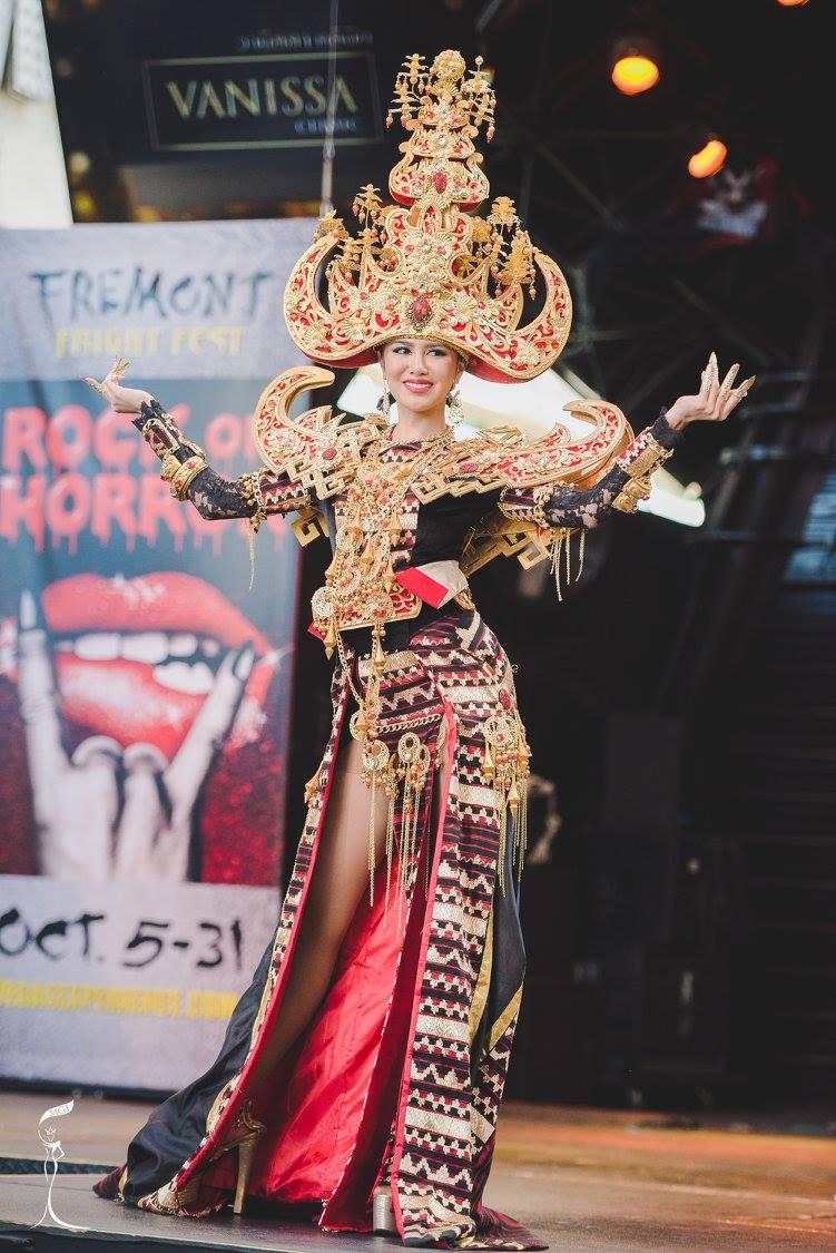 Royal Sigokh, national costume yang dibawa oleh Ariska berhasil meraih kemenangan sebagai yang terbaik diantara national costume lainnya (sumber : facebook.com/MissGrandInternational)