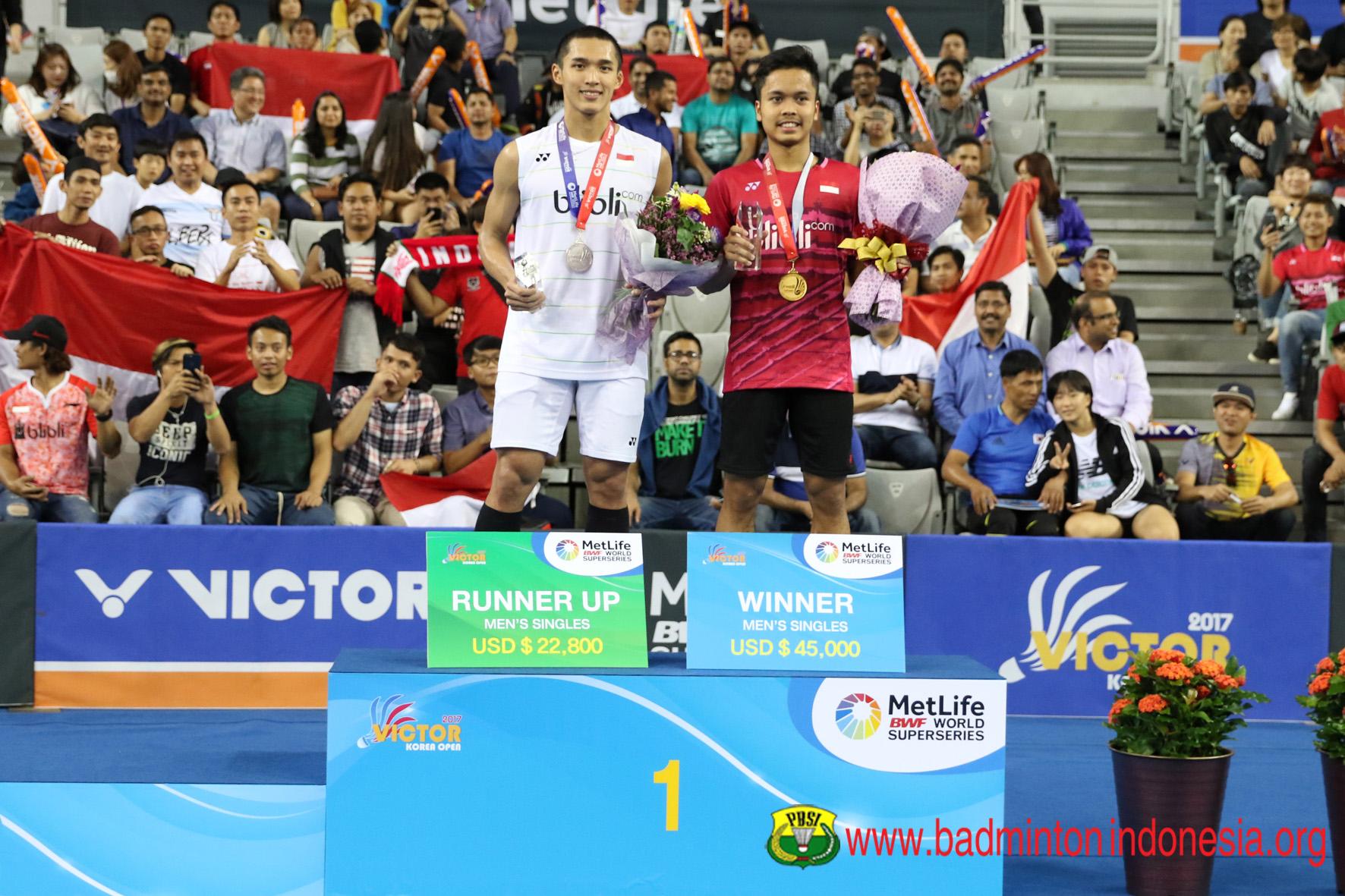 Jonathan Christie dan Anthony Ginting (badmintonindonesia.org)