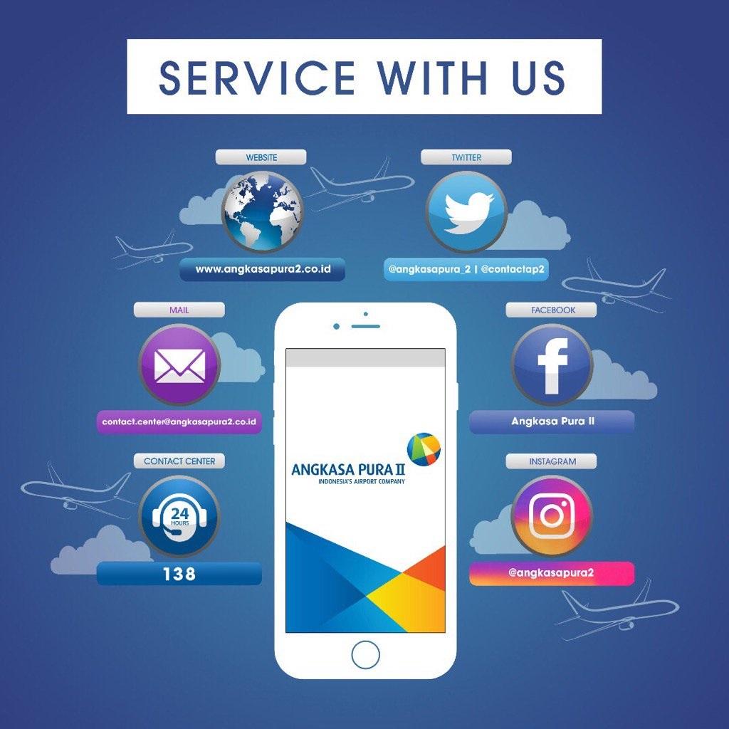 salah stau aplikasi layanan dari Angkasa Pura yang berbasis mobile (twitter.com)