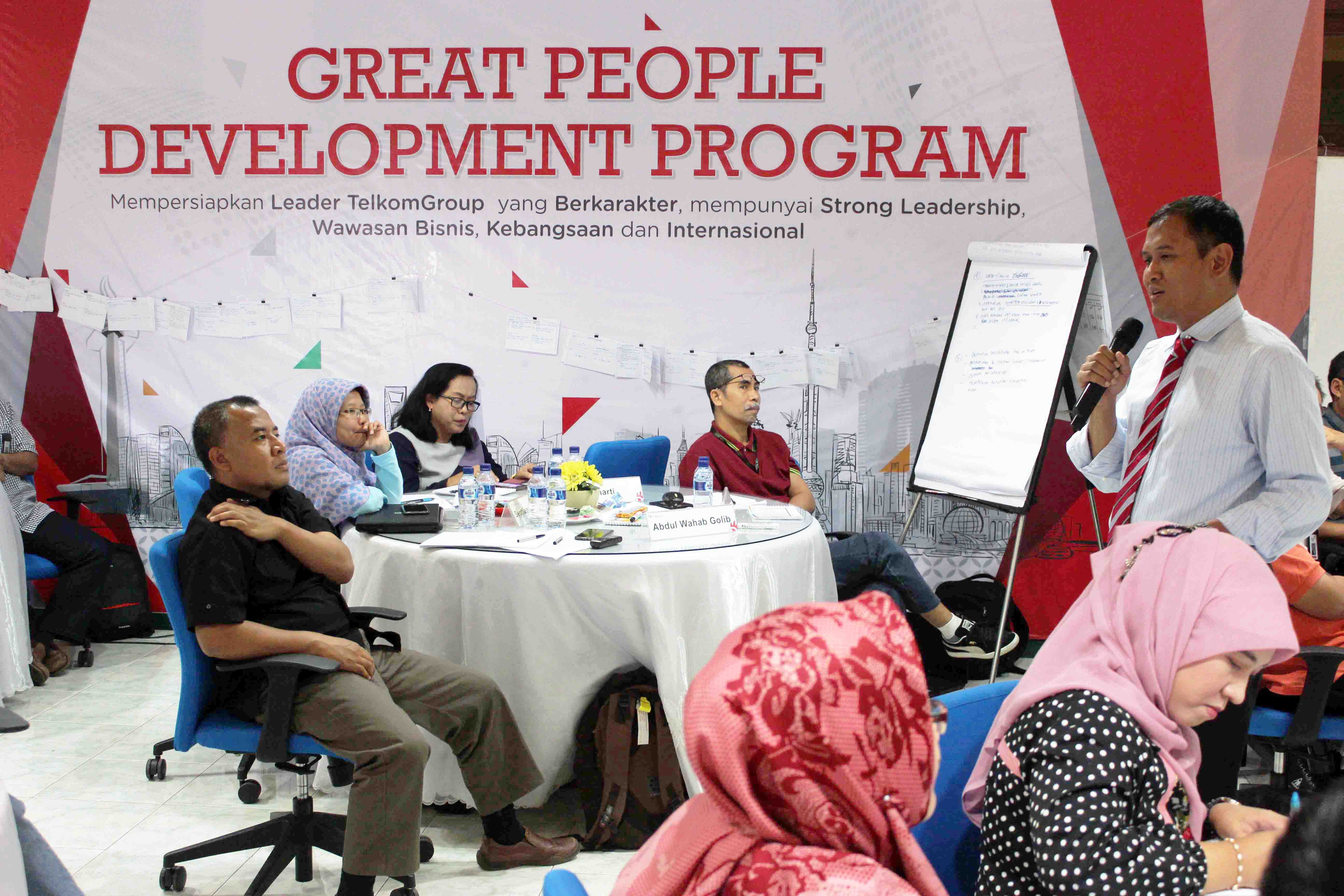 Great PEople Development Program, salah satu program peningkatan kualitas SDM yang dilakukan oleh PT Telkom (petrokimia-gresik.com)
