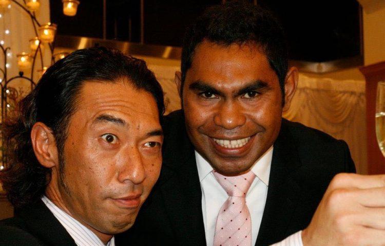 Sunny dan Nobuyuki (sumber : infotrading.com)
