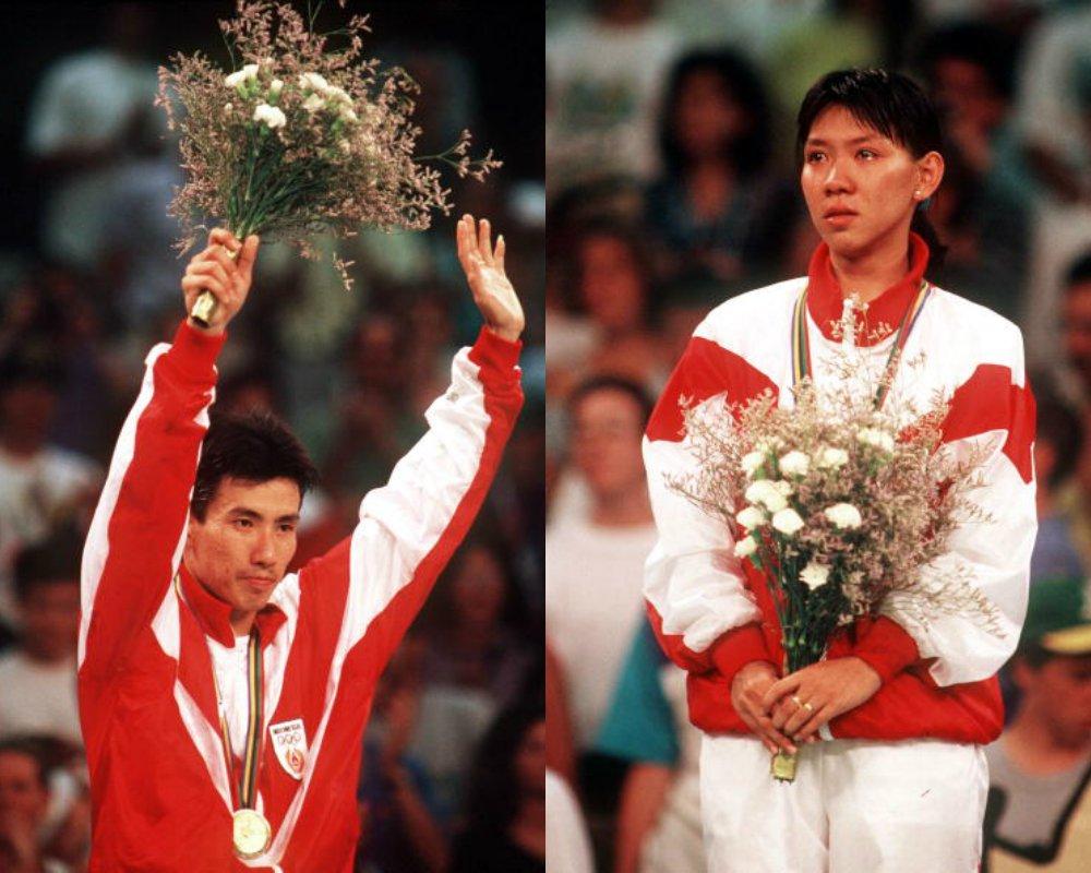 Alan - Susi, sepasang pencetak sejarah emas olimpiade (sumber : asset.kompas.com)