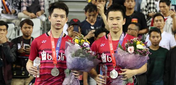 Kevin Sanjaya / Markus Gideon (badmintonindonesia.org)