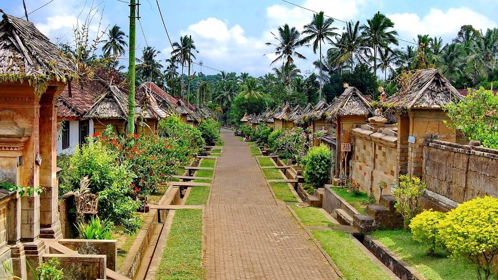 Keindahan dan keasrian menjadi daya tarik utama dari desa ini (hellobalitravel.com)