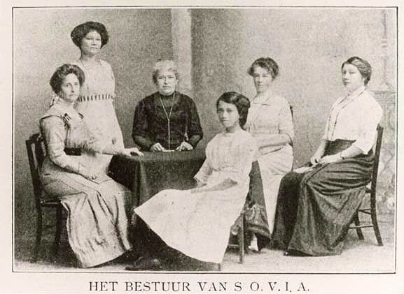 SOVIA, lembaga penyedia beasiswa bagi siswa perempuan di Hindia - Belanda (javapost.nl)