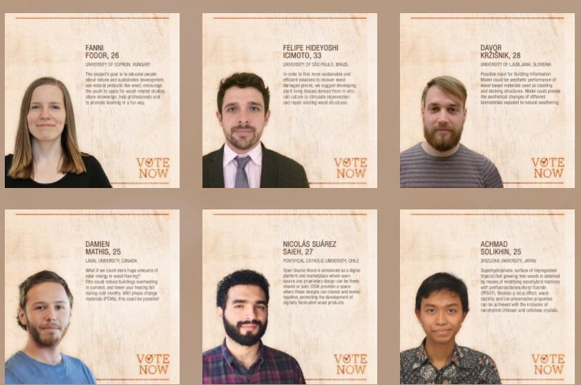 Solikhin bersama 6 besar finalis Schweighofer Prize 2017 (schweighofer-prize.org)