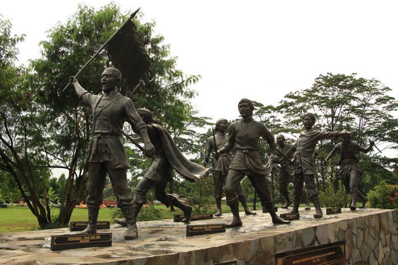 Monumen PErjuangan Tionghoa - Jawa di Taman Mini Indonesia Indah (sumber : detik.com)